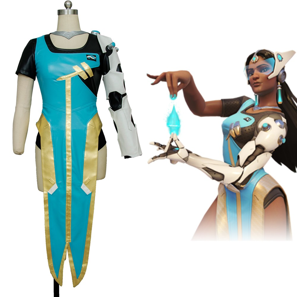 Symmetra Overwatch OW Outfit Deluxe Overwatch Cosplay Costume