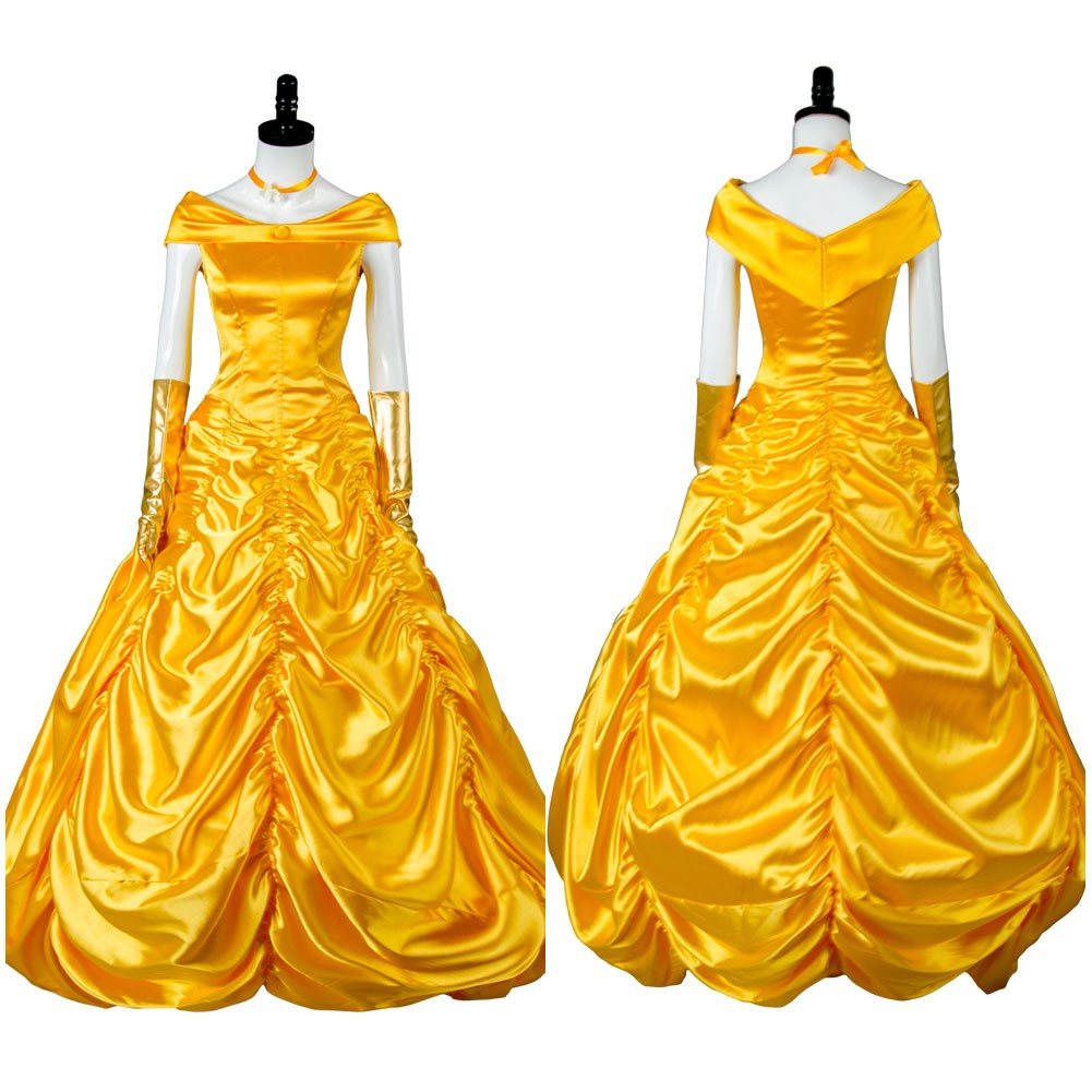 Belle Dress 2017 Beauty and the Beast Ball Gown Cosplay Costume