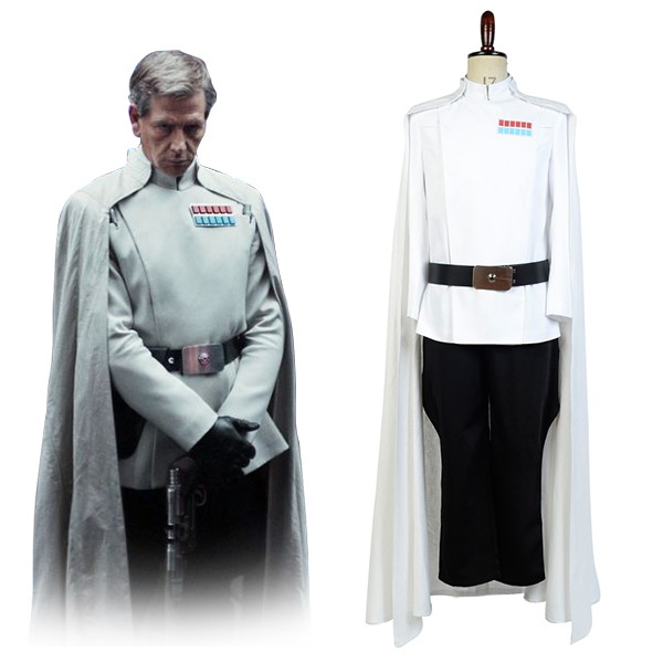Director Krennic Rogue One: A Star Wars Story Top Officer Uniform Cosplay Costume
