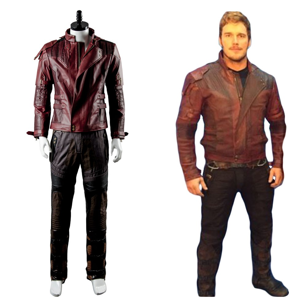Peter Jason Guardians of the Galaxy 2 Quill Starlord Cosplay Costume