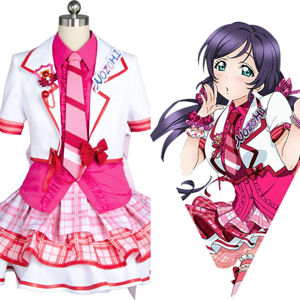 Nozomi Tojo Love Live! After School Activity Dress Cosplay Costume