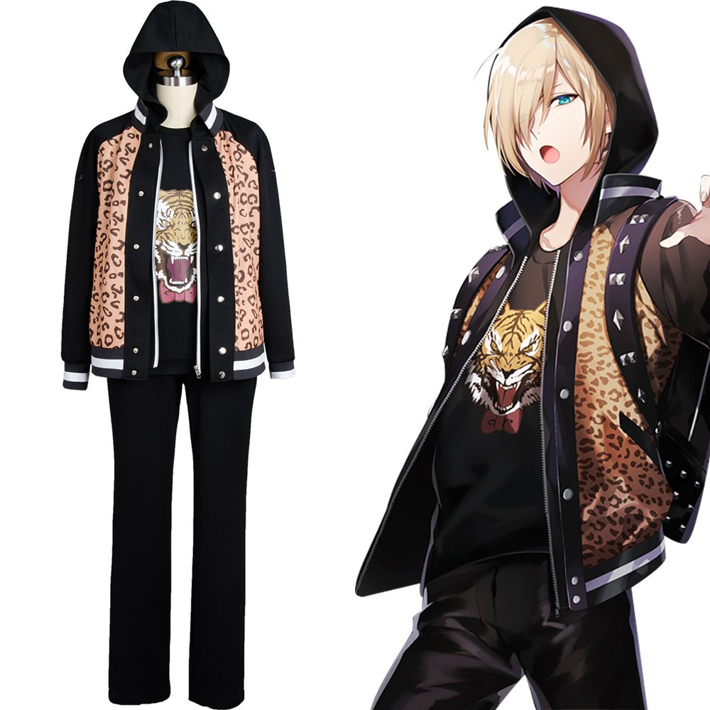Yuri Plisetsky Yuri on Ice Tiger Head Outfit Cosplay Costume