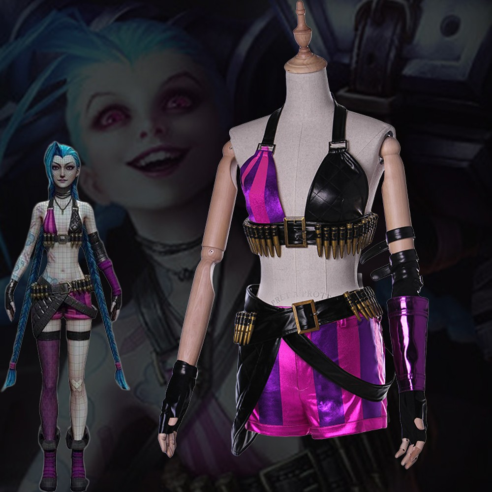 Pokemon Cosplay Costumes & Popular Cosplay: Sexy and Cool ...   Jinx League Of Legends Outfit