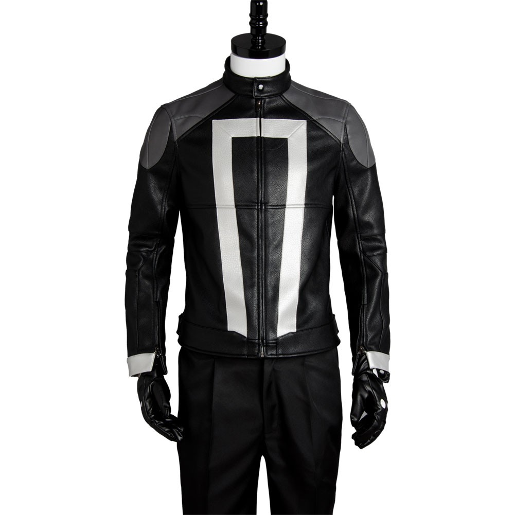 Ghost Rider Agents of Shield S.H.I.E.L.D Jacket Cosplay Costume from Agents of S.H.I.E.L.D.