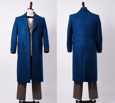 Newt Scamander Fantastic Beasts and Where to Find Them Eddie Outfit Cosplay Costume