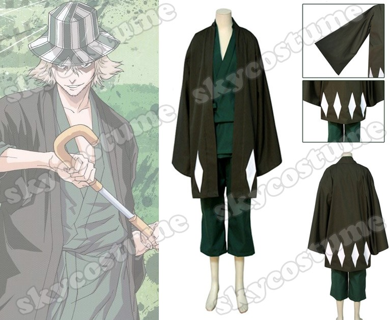 Bleach Urahara Kisuke Cosplay Costume Custom from Bleach