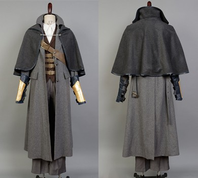 Bloodborne Outfit Whole Set Cosplay Costume Custom Made from  Bloodborne