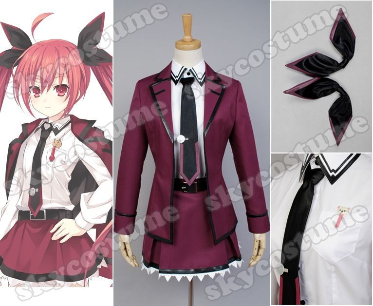 Date·A·Live Kotori Itsuka Uniform Cosplay Costume from Date A Live