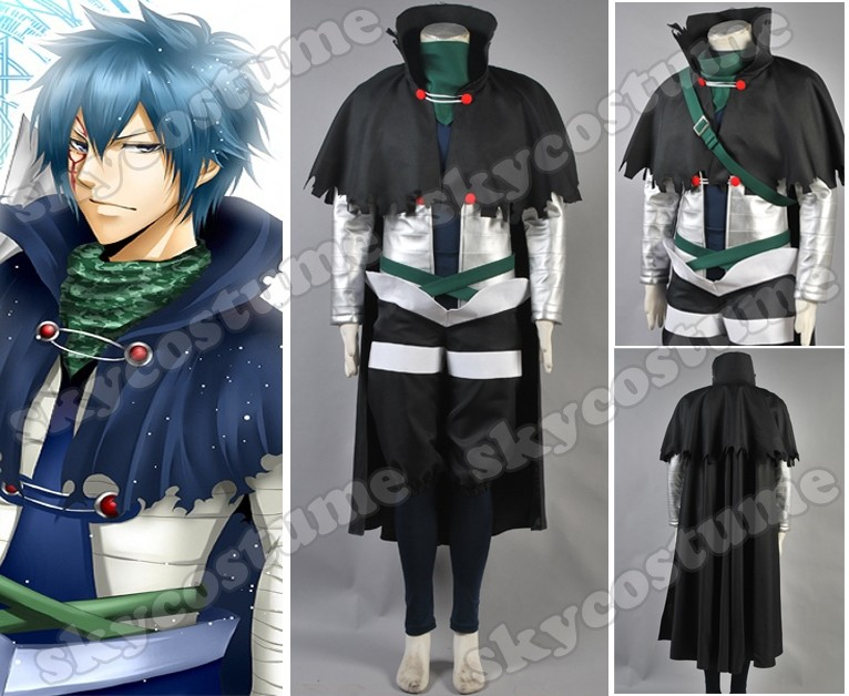 Fairy Tail Cosplay Mystogan NewFairy Tail Cosplay