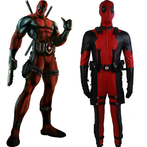 Marvel comics deadpool cosplay costume skycostume solutioingenieria