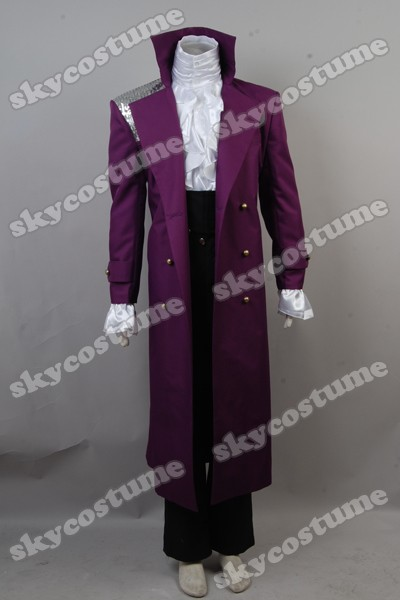 Prince Rogers Nelson in Purple Rain Coat Cosplay Costume
