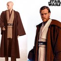 Star Wars Kenobi Jedi TUNIC Cosplay Costume Brown Version  from Star Wars