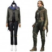 Jyn Erso Rogue One: A Star Wars Story Stardust Outfit Cosplay Costume