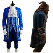 Dan Stevens 2017 Beauty and the Beast Prince Costume Cosplay Costume