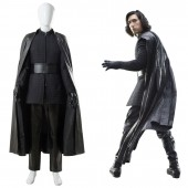 Kylo Ren Star Wars 8 The Last Jedi Outfit Ver.2 Cosplay Costume