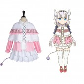 Kanna Kamui Miss Kobayashi-san Dragon Maid Dress Cosplay Costume