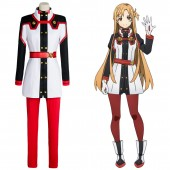 Asuna Yuuki SAO Sword Art Online the Movie Ordinal Scale OS Cosplay Costume
