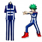 Izuku Midoriya Boku no Hero Academia My Hero Academia Training Suit Cosplay Costume