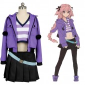 Fate/Apocrypha FA Rider Astolfo Dress Cosplay Costume