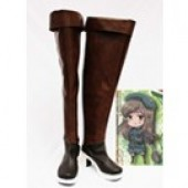 APH Axis Powers Hetalia Hungary Cosplay Shoes Boots from Axis Powers Hetalia