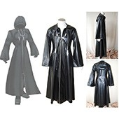 Kingdom Hearts 2 Organization XIII Cosplay Costume from Kingdom Hearts