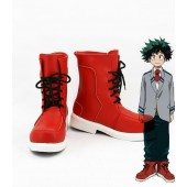 Academia Izuku Boku no Hero Academia My Hero Boots Cosplay Shoes