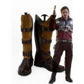 Guardians of the Galaxy Peter Jason Quill Starlord Boots Cosplay Shoes