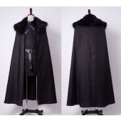 Jon Snow GoT Game of Thrones Night's Watch Outfit Cosplay Costume
