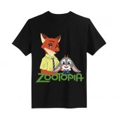 Judy and Nick Zootopia T-shirt Cosplay Costume