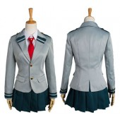 My Hero Academia Tsuyu Boku no Hero Academia School Uniform Cosplay Costume