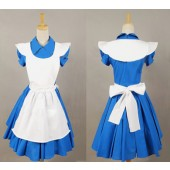 Blue Alice Alice In Wonderland Movie Dress Costume