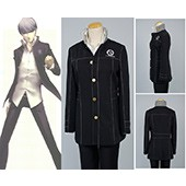 Shin Megami Tensei: Persona 4 P4 Cosplay School Boy Uniform Costume