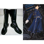 Fullmetal Alchemist Roy Mustang Cosplay Shoes Boots Fullmetal Alchemist