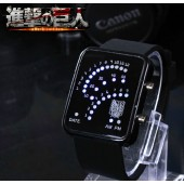 Attack On Titan Pendant Survey corps LED Watch from Attack On Titan