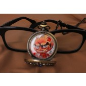 Attack On Titan Pendant Survey corps will and Red Giant pocket watch from Attack On Titan