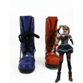 Batman Arkham Knight Harley Quinn Cosplay Boots for costume from Batman