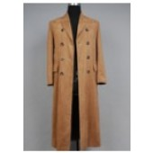 Doctor Who Dr. Brown Long Trench Coat Suit Cosplay Costume from Doctor Who