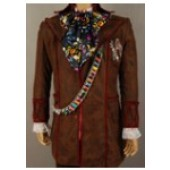 Alice In Wonderland Johnny Depp Mad Hatter Jacket Pants Tie Cosplay Costume from Alice In Wonderland