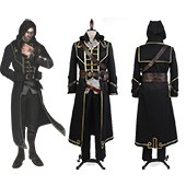 Dishonored Corvo Attano Suit Game Cosplay Costume from Dishonored
