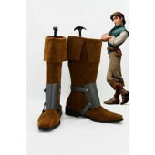 Disney Tangled Prince Flynn Rider Cosplay Boots Costume from Tangled