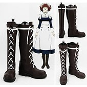 Black Butler Kuroshitsuji Maylene Cosplay Shoes Boots from Black Butler