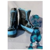 Kingdom Hearts Sora Cosplay Shoes Boots Custom Made from Kingdom Hearts