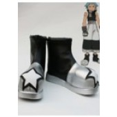 Soul Eater Black Star Cosplay Shoes Boots from Soul Eater