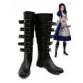 Alice: Madness Returns Default Cosplay Boots Shoes