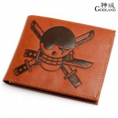One Piece Pu leather Luffy Logo Wallet Purse