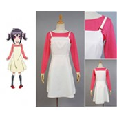 Orenchi no Furo Jijō Kasumi braces skirt Outfit Cosplay Costume from Orenchi no Furo Jijō