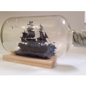 Pirates of the caribbean ship in a bottle black pearl Gift