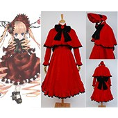 Rozen Maiden Reiner Rubin dress suit Anime cosplay costume from Rozen Maiden