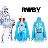 RWBY White Trailer Weiss Schnee Dress suit Cosplay Costume from RWBY