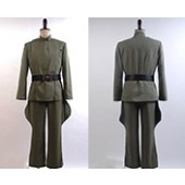 Star Wars Imperial Officer Olive Green Costume Uniform from Star Wars
